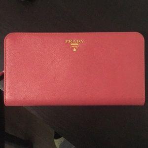 Prada wallet/ passport wallet